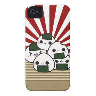 Land of the Rising Onigiri Case-Mate iPhone 4 Case