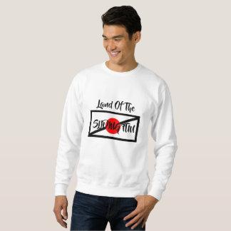 Land Of The Sliding Fun Crewneck Sweatshirt