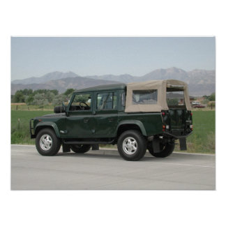 Land Rover Defender 110 Posters