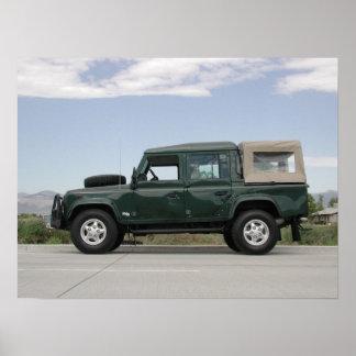 Land Rover Defender 110 Print