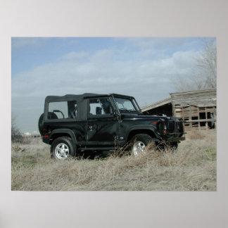 Land Rover Defender 90 Poster