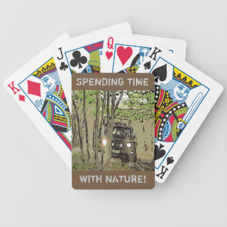 LAND Rover Defender 90 - TIME with NATURE Poker Deck