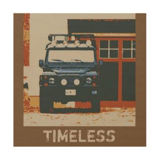 Land Rover Defender 90 - TIMELESS Wood Print