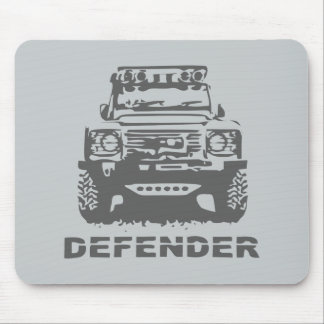 Land Rover Defender Classic Vintage Hiking Duck Mouse Pad