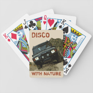 LAND ROVER DISCOVERY - DISCO WITH NATURE BICYCLE PLAYING CARDS