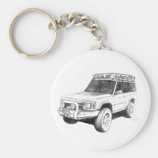 Land Rover Keychain Art