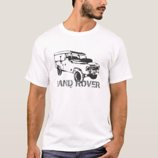 Land Rover Landy Car Classic Vintage Hiking Duck T-Shirt