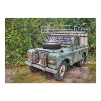 Land Rover Series III 109 Poster