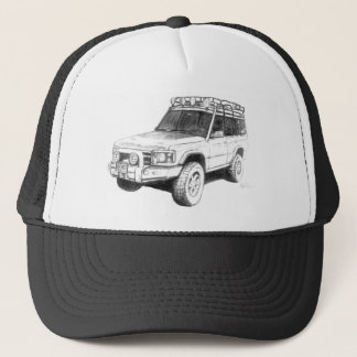 Land Rover Trucker Hat Art