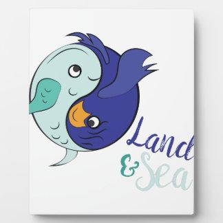 Land & Sea Plaque