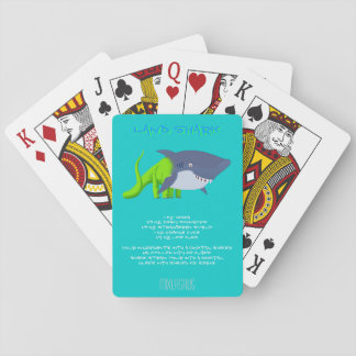 Land Shark Drink Recipe Playing Cards