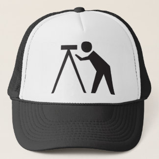 Land Surveyor at Work Haat Trucker Hat