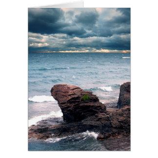 Land Water Sky Card