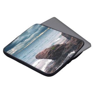 Land Water Sky Laptop Sleeve