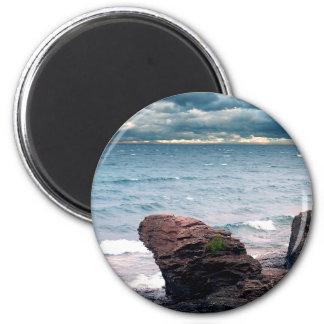 Land Water Sky Magnet