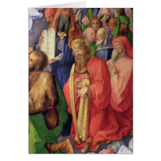 Landauer Altarpiece: King David, 1511 Card