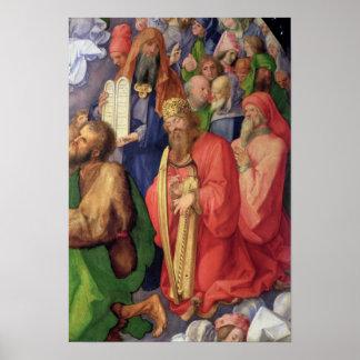 Landauer Altarpiece: King David, 1511 Print