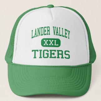 Lander Valley - Tigers - High - Lander Wyoming Trucker Hat