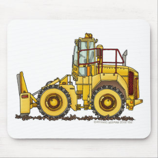 Landfill Compactor Construction Mouse Pad