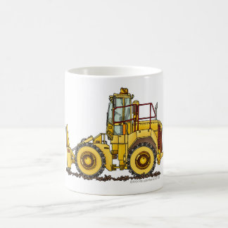 Landfill Compactor Construction Mugs