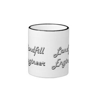 Landfill Engineer Classic Job Design Ringer Mug
