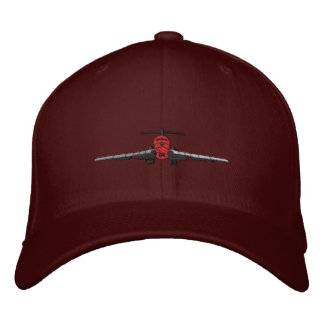 Landing Airliner Embroidered Hat