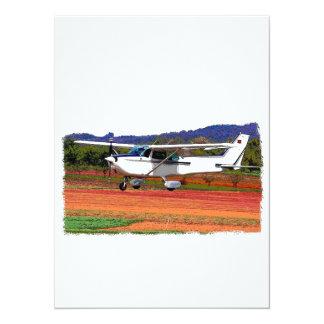 Landing Airplane Card