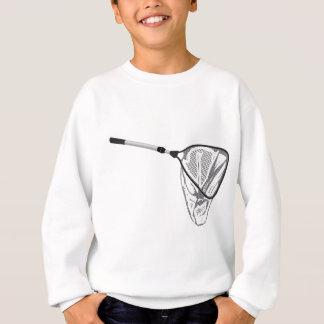 Landing fishing net vector illustration clip-art sweatshirt
