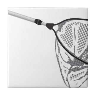 Landing fishing net vector illustration clip-art tile