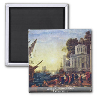 Landing Of Cleopatra At Tarsus By Lorrain Claude Magnet