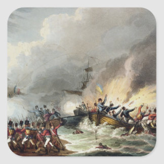 Landing of the British Troops in Egypt, March 1801 Stickers