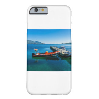 Landing stag and speed boat barely there iPhone 6 case
