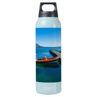 Landing stag and speed boat insulated water bottle