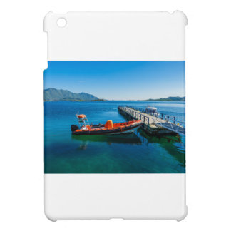 Landing stag and speed boat iPad mini case