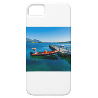 Landing stag and speed boat iPhone 5 cover
