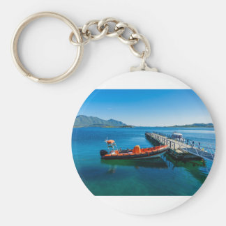 Landing stag and speed boat key ring