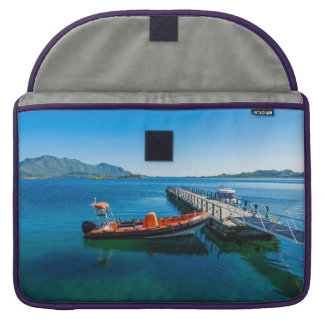 Landing stag and speed boat sleeve for MacBook pro