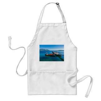 Landing stag and speed boat standard apron