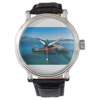 Landing stag and speed boat watch