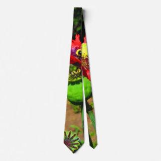 Landing Zone Organic Poppy tie