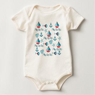 landlord nautical baby bodysuit