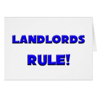 Landlords Rule! Card