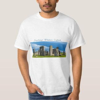 Landmark image of England for men's-t-shirt Tees