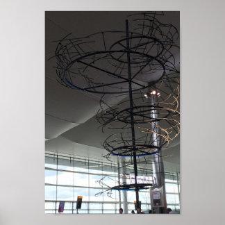 Landmark Photography  Heathrow airport London UK Poster