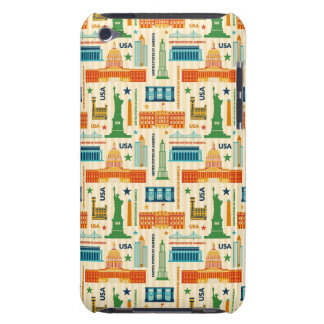 Landmarks of United States of America Barely There iPod Cover