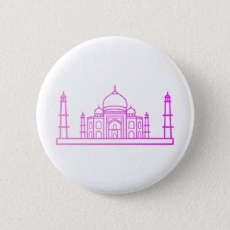 Landmarks - Taj Mahal Button