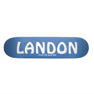 LANDON, From The Long Hill Skateboard Deck