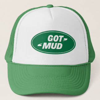 landrover.got.mud trucker hat