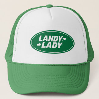 landrover.landy.lady trucker hat