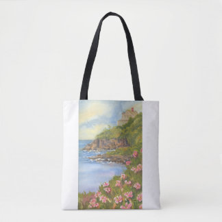 LANDS END ON BAILEY ISLAND MAINE TOTE BAG